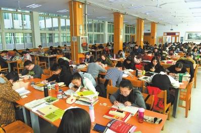 学生自习简笔画