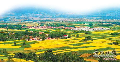 静宁县新农村风景图
